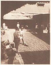 G0732 Equateur - Guayaquil - Décortication des graines de cacao - 1926 old print
