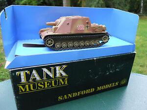 Solido Militaire Verem Stretton Modèles Sm 37 Storm Tank Brummbär N ° 112