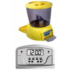 New Digital LCD Automatic Pet Feeder For Dog Cat Feeder 1-90 Days New Design