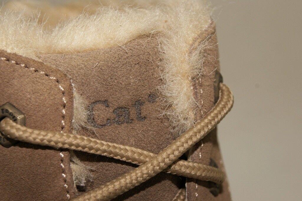 CAT Caterpillar Pouty Stiefel Gr Stiefeletten 40 US 9 Damen Stiefeletten Gr Schuhe Warm Gefüttert 1328c1