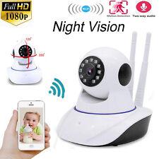 1.0MP HD Wireless WiFi IP Security Pan Camera Two-way Audio Camera Night Vision
