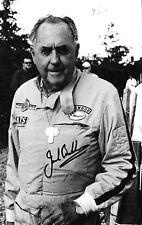 Jack Brabham  SIGNED 11x7  Goodwood Festival of Speed Portrait 2002