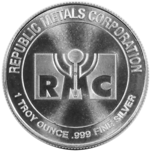 1-Troy-oz-RMC-Republic-Metals-999-Fine-Silver-Round
