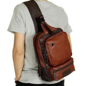 2016 Mens Womens Travel sport Small Sling Chest Bag Backpack Hiking ... 93b3193fda88c