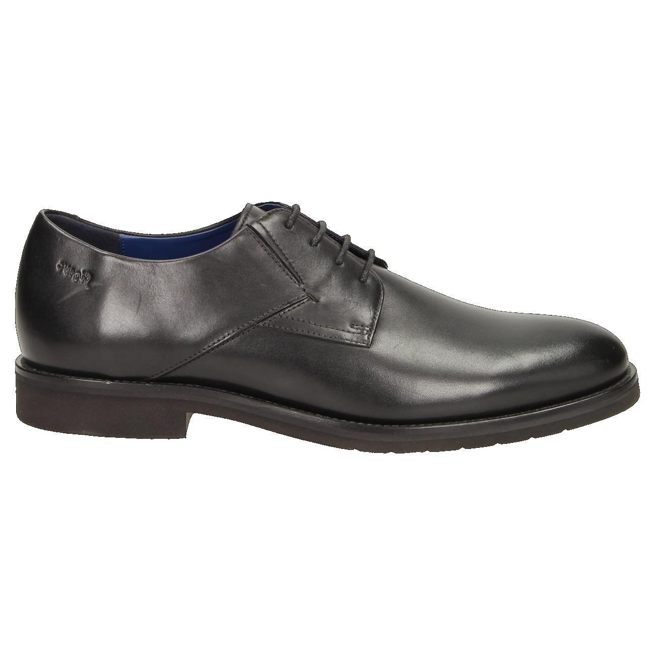 Sioux Jaromir-700 Business-Schuh schwarz Wechselfußbett 35330
