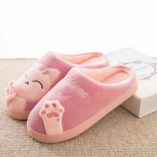 7ab509ddf0c FUNNY Cute Cozy Cat Paw Slippers Women Home Warm Winter Slippers Indoor  Shoes