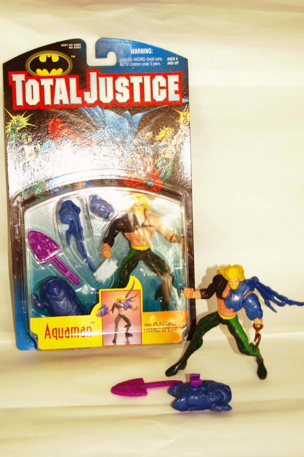 Dc comics. total justice figure's aquaman