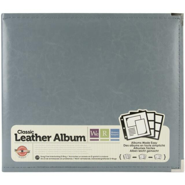 We R Memory Keepers Classic Leather 3 Ring Album 12x12 Inch