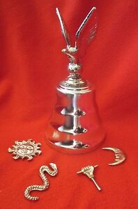 Santeria-Vodou-Ritual-Bell-amp-Tool-Set-For-Orisha-Obatala