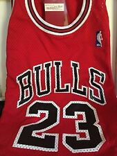 AUTHENTIC Mitchell and Ness 1987 Road Chicago Bulls Michael Jordan Jersey #87