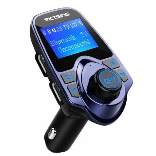 VicTsing FM Transmitter Bluetooth Hands-free LCD MP3 Player Radio Adapter Kit