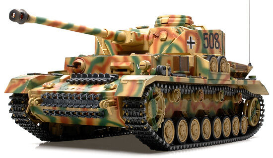 56026  Tamiya 1 16 R C F-O  WWII  German PANZER IV  Ausf J   Tank  KIt   NIB