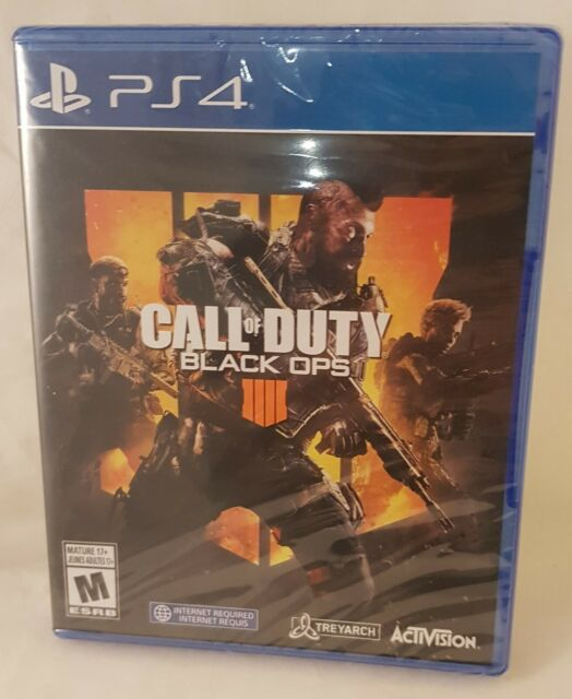 Call of Duty Black Ops 4 PlayStation 4 PS4 Brand New Sealed Video Game Bilingual