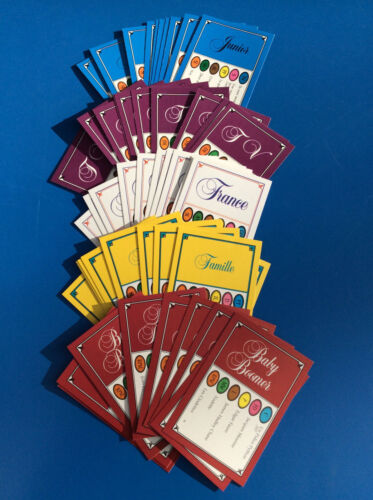 Game Trivial Pursuit Set of 50 Cards Edition Mixed 300 Questions Refill Fr