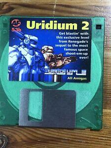 Amiga-Format-Magazine-Demo-Cover-disk-53b-Uridium-2-TESTED-WORKING