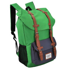 Everyday Deal Travel Laptop Backpack (Green/Navy Blue)