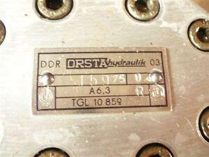 Hydraulikpumpe Pumpe Zahnradpumpe VEB Kombinat Orsta Hydraulik TGL10859 A 6,3 R