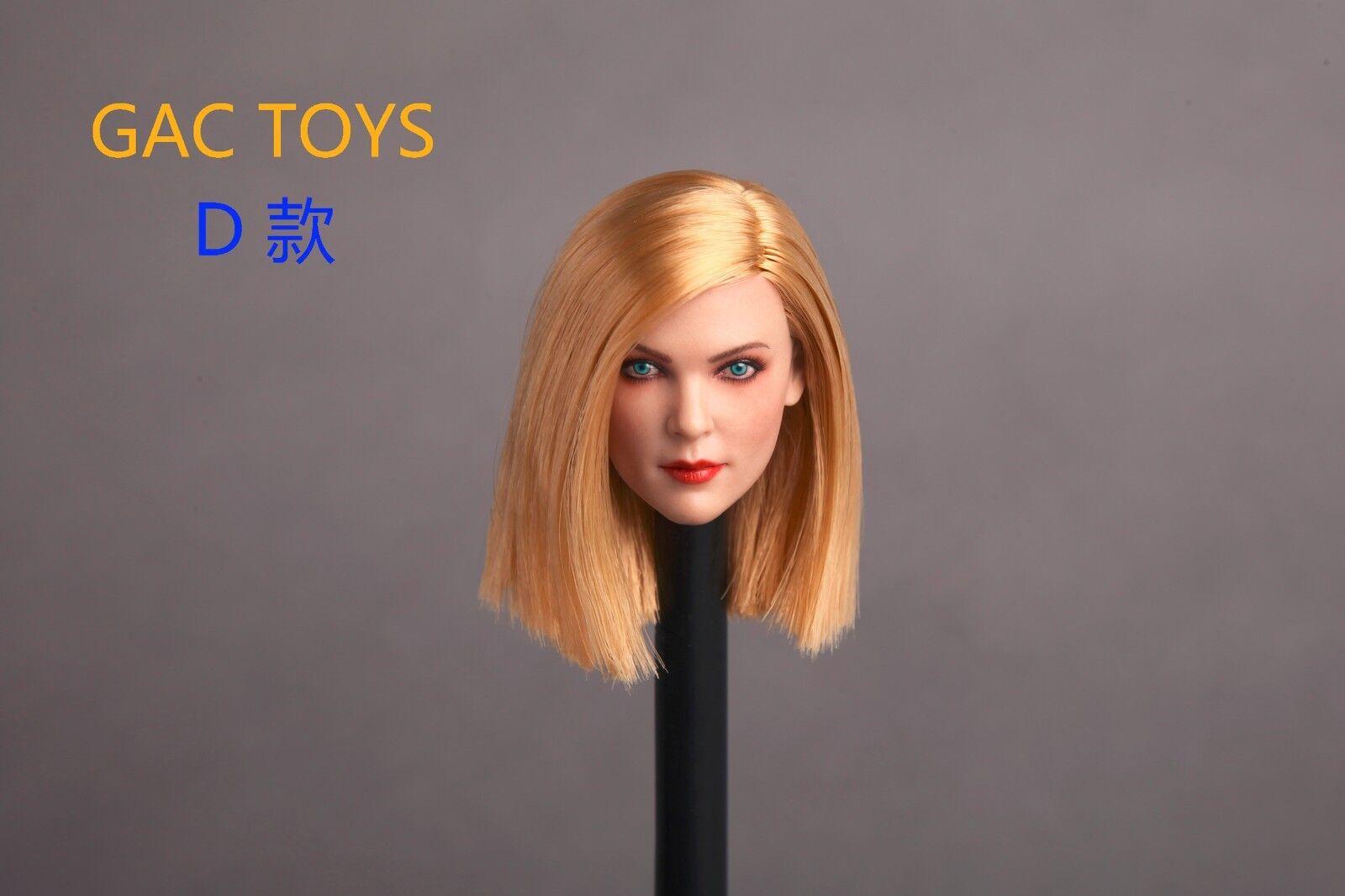 GACTOYS 1 6 Scale Blond Long Hair GC006 Head Sculpt F 12'' Female Body Figure