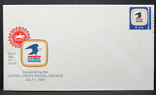 US Cover FDC Post Office Department Inaugurating Stamp USA Ersttagsbrief (H-6309