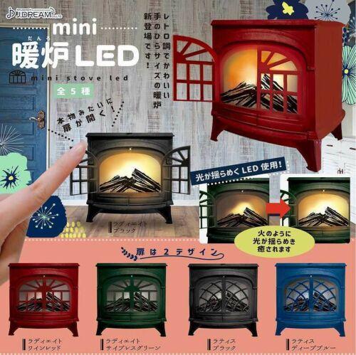 J.Dream Capsule toys Gashapon Mini Stove LED Set  # 2 Radiate Wine Red