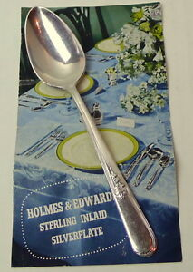 Holmes-Edwards-Spoon-Youth-Pattern-6-1-8-034-Inlaid-Silverplate