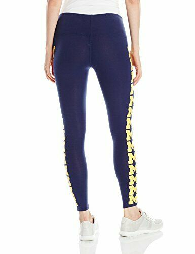 Michigan Wolverines Loudmouth Womens Leggings MD//LRG SLIM FIT! NEW