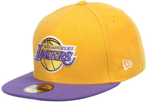 New Era NBA LA LOS ANGELES LAKERS Seasonal TAPPO BASE 5950 Fitted Team
