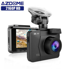 AZDOME 4k Ultra 2160p WiFi Dash Cam DVRs Car Camera With GPS Night Vision Auto