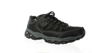 Skechers-Mens-After-Burn-M-Fit-Black-Walking-Shoes-Size-10-1360028