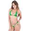 thumbnail 10 - Sexy Micro Bikini Shiny Women Brazilian G-String Set Thong Swimwear Swimsuit
