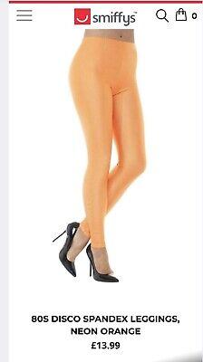Leggings Neon Orange *Smiffys Original*