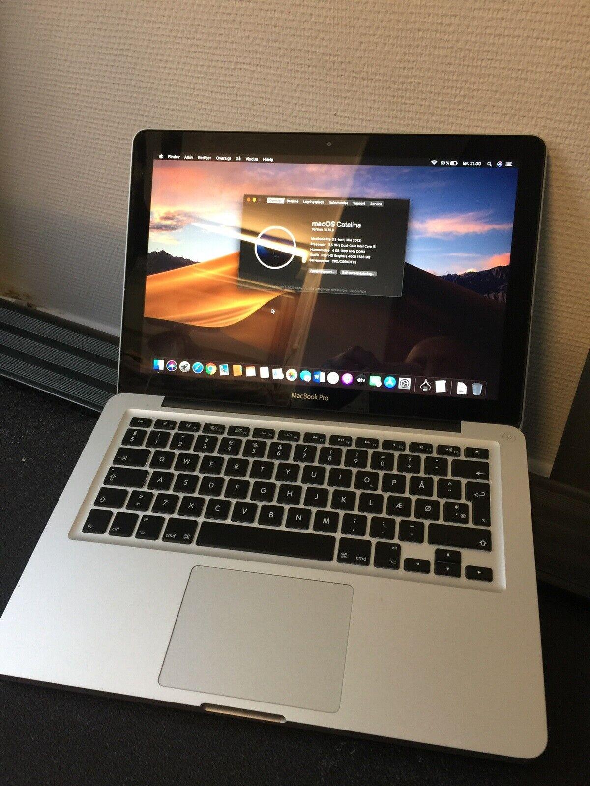 MacBook Pro, 13, 2012 – dba.dk – Køb og Salg af Nyt og Brugt