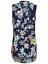 Ex-Store-Ladies-Pleated-V-Neck-Chiffon-Sleeveless-Blouse-Size-8-24 thumbnail 8
