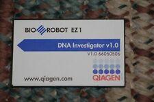 Qiagen Flash Program Card Dna Investigator V 10 Biorobot Ez1