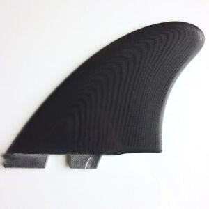 FCS-II-Modern-Keel-PG-Twin-Surfboard-Fin-Set-Black-NEW