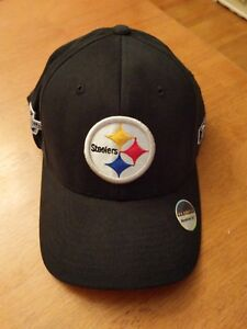 3fc479ca572 Image is loading New-Vintage-Football-Flexfit-Reebok-PITTSBURGH-STEELERS -Super-