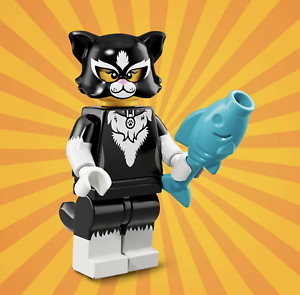 Cat Costume Girl Minifigures Brand New Lego Series 18 71021