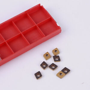 10Pcs CCMT21.52 lathe carbide INSERT CCMT060208 turning tool CCMT FOR P M K