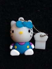 1 New Blue Novelty Hello Kitty 128MB, USB Flash Drive Memory Stick