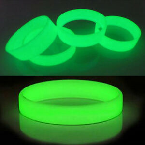 Hot-Glow-In-The-Dark-Luminous-Silicone-Rubber-Wristband-Wrist-Band-Bracelet