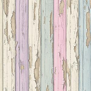 Painting Distressed Wood Floor