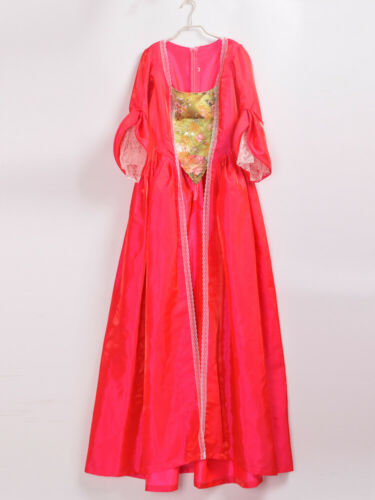 Rococo Baroque Overdress Marie Antoinette Theater Colonial Waltz Gown 5 Colors