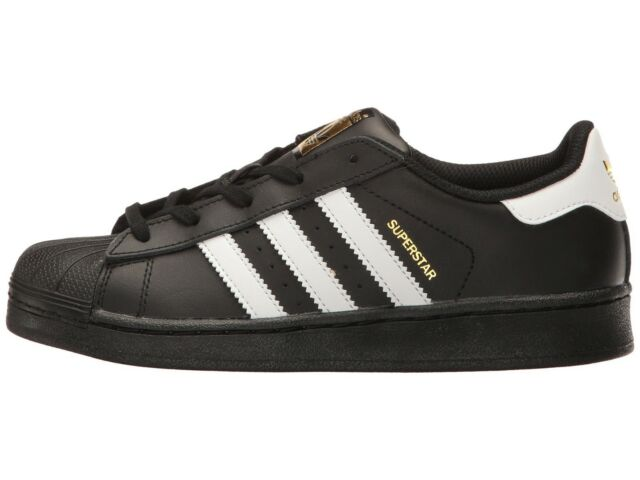 877d38f9a Adidas Originals Little Kid s SUPERSTAR FOUNDATION PS Shoes Black White  BA8379 c