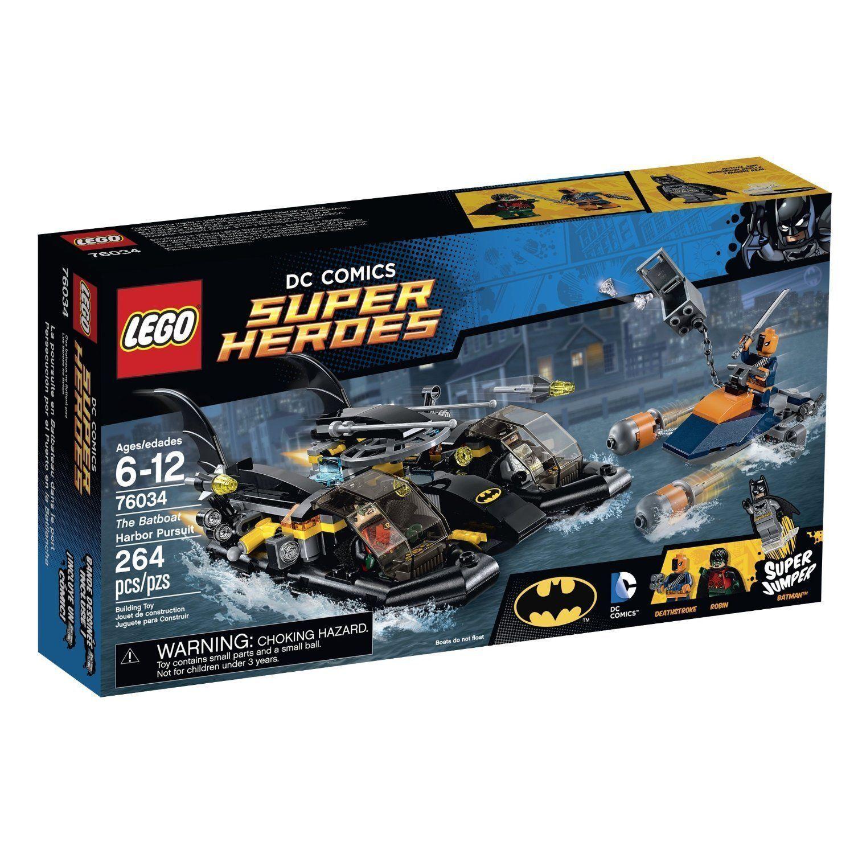 Lego Super Heroes 76034 The Batboat Harbor Pursuit NEW
