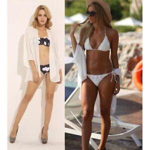 0e08e9eb3 UK Women Beach Wrap Chiffon Cardigan Shirt Bikini Cover up Jacket ...