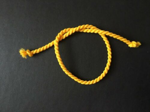 "11/"" 12/"" Fashion Doll Twist Cordon Corde Ceinture rouge blanc jaune vert bleu shimmyshim"
