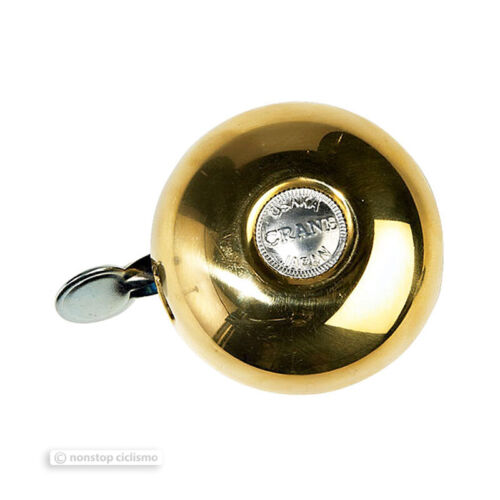 NEW Crane Bell Co RITEN Classic Brass Rotary Style Bicycle Bell Made in Japan!