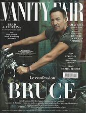 Vanity Fair Italian magazine Bruce Springsteen Brad Pitt Angelina Jolie Rita Ora