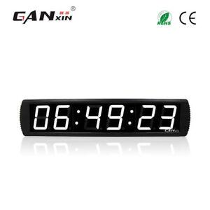 Ganxin-4-inch-white-modern-digital-wall-clock-led-large-wall-alarm-clock-timer