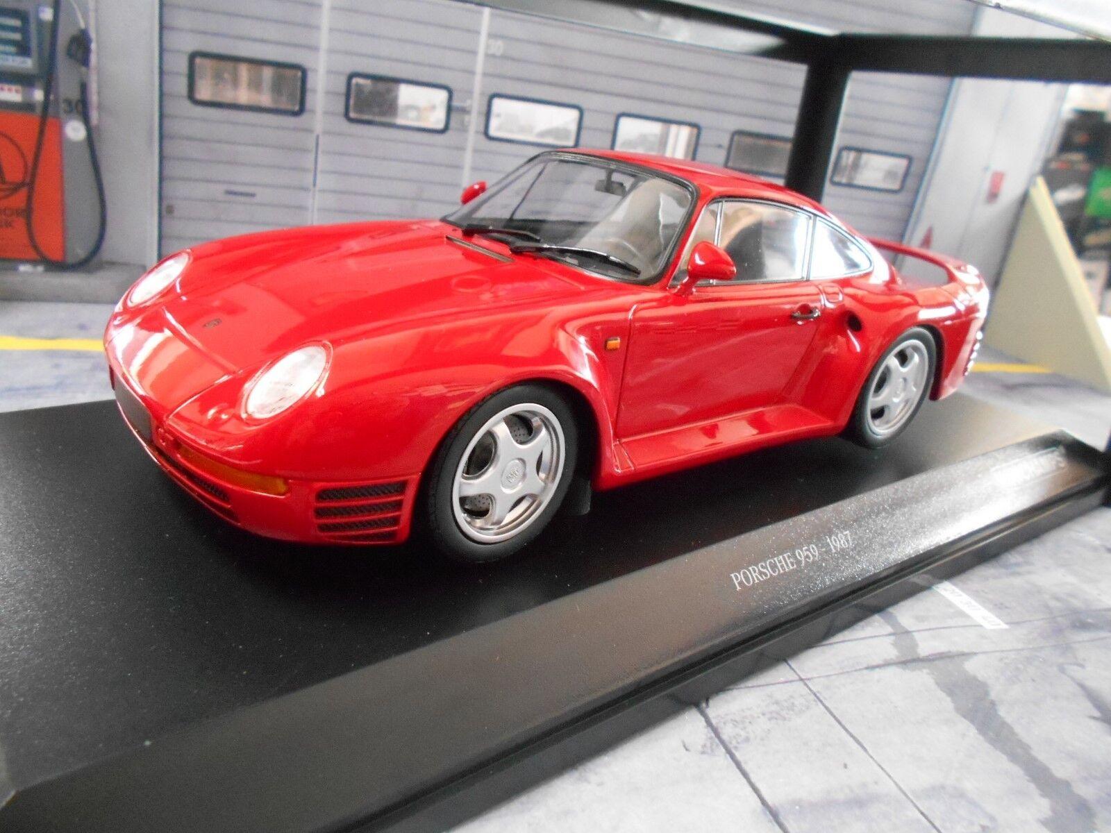 PORSCHE 959 4x4 MIS. B COUPE rosso ROSSO 1987 NEW NEW NEW NUOVO Minichamps 1 18 d19dcf